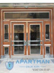 Altunizade Apartman Kapısı Modelleri Bina Giriş Kapısı Fiyatları Çelik Kapı Apartman Giriş Kapısı