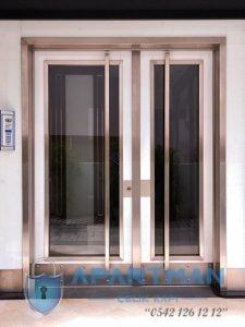 Bahçeşehir Apartman Kapısı Modelleri Bina Giriş Kapısı Fiyatları Çelik Kapı Apartman Giriş Kapısı