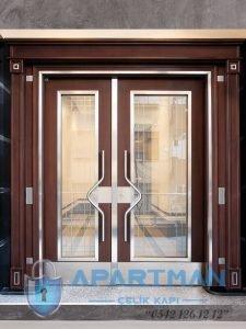 Çengelköy Apartman Kapısı Modelleri Bina Giriş Kapısı Fiyatları Çelik Kapı Apartman Giriş Kapısı