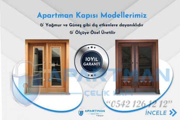 Dış Etkenlere Dayanıklı Apartman Kapısı Modelleri İndirimli Çelik Bina Kapısı Modelleri