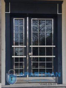 Emirgan Apartman Kapısı Modelleri Bina Giriş Kapısı Fiyatları Çelik Kapı Apartman Giriş Kapısı