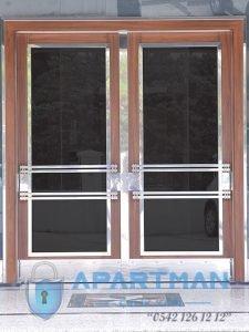 Sahrayıcedit Apartman Kapısı Modelleri Bina Giriş Kapısı Fiyatları Çelik Kapı Apartman Giriş Kapısı